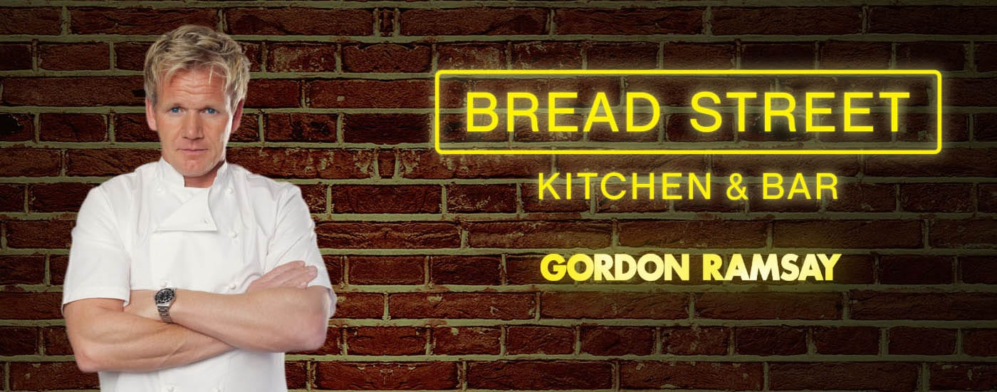 Gourmet Superstar Chef Gordon Ramsay Returns to Bread Street Kitchen Dubai