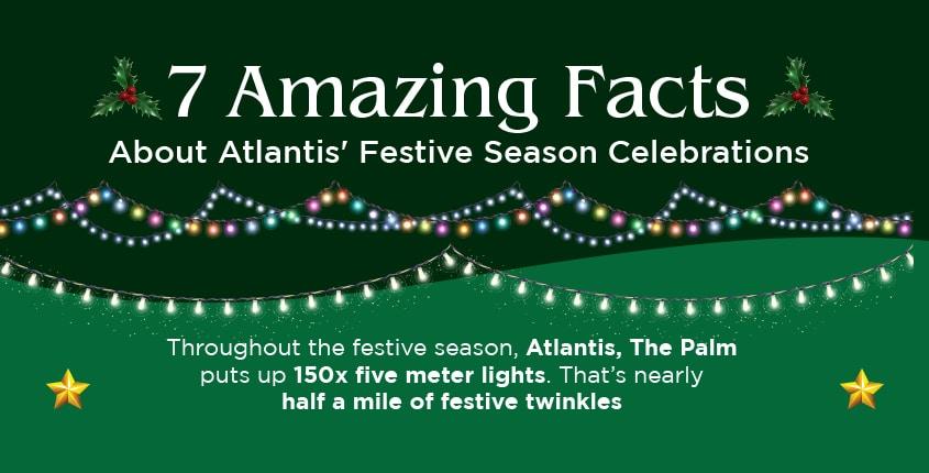 7 Amazing Facts About Atlantis' Festive Season Celebrations