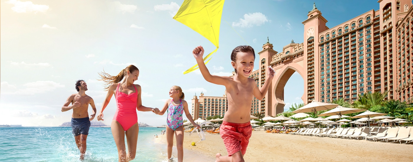 Soak up the Last Few Days of Your Summer Holidays in Dubai at Atlantis, The Palm