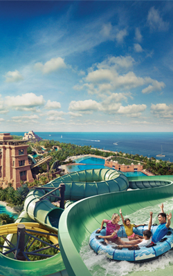 Top 10 Dubai Waterslides and Rides at Aquaventure Waterpark in Atlantis, The Palm