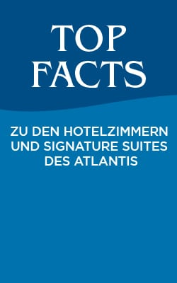 Edition II: Top Facts zu den Hotelzimmern und Signature Suites des Atlantis