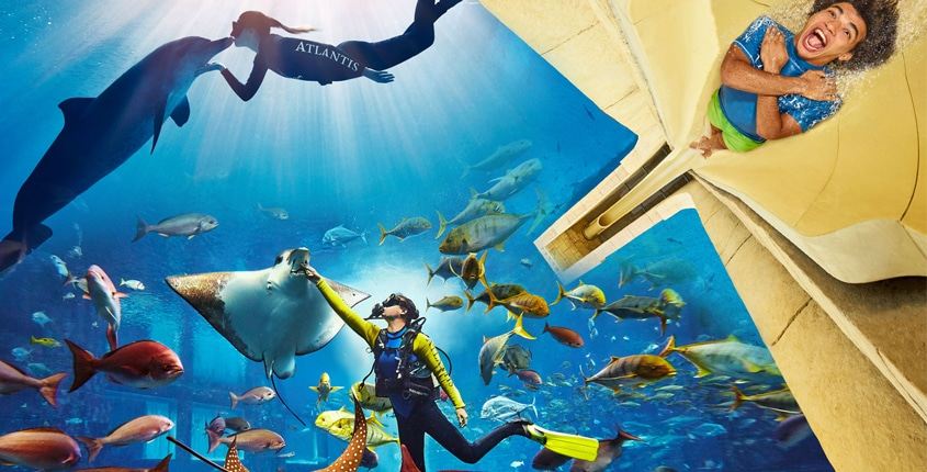 Unlock Endless Adventure at Atlantis Aquaventure with the Brand New 2-Day Mega Pass!