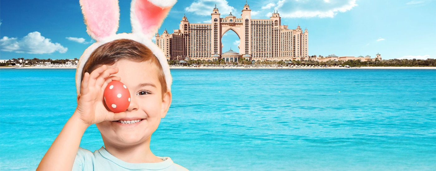 Get Ready for an Eggciting Time at Atlantis Dubai this Easter!
