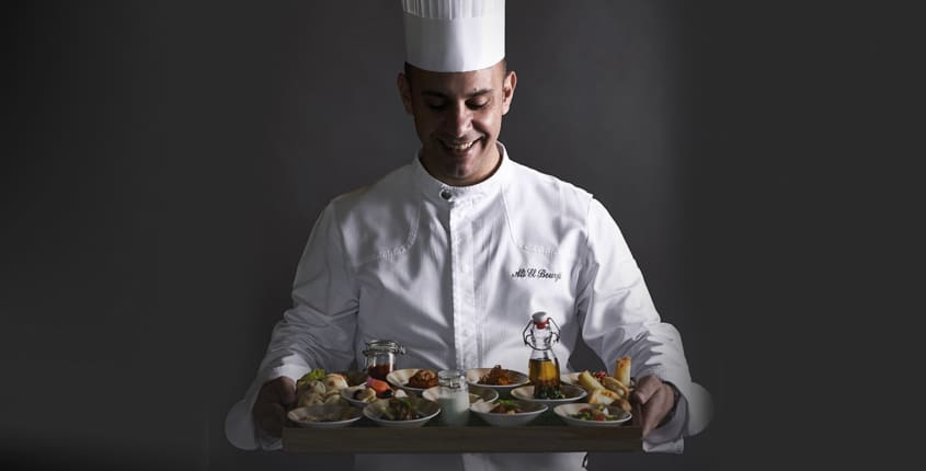 Behind The Scenes: Chef Ali Elbourji