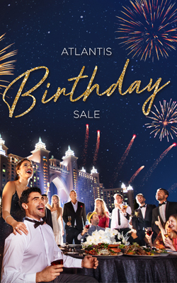 Celebrate Our 11th Anniversary with the Exclusive Atlantis Birthday Sale!