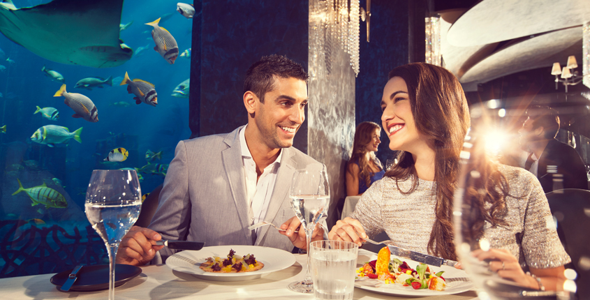 Discover Unique Fine Dining Experiences in Dubai on the Palm!